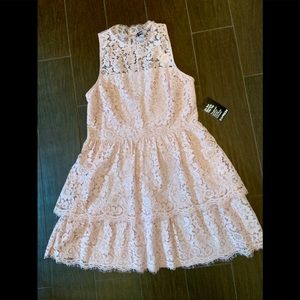 NWT Lace Express Tiered Dress